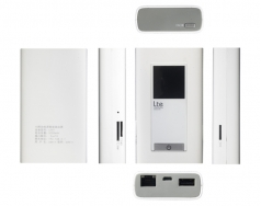 Lte power bank router